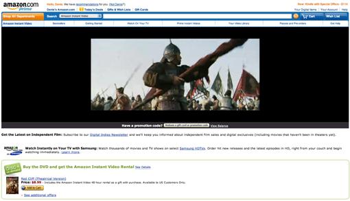 amazon видео портал