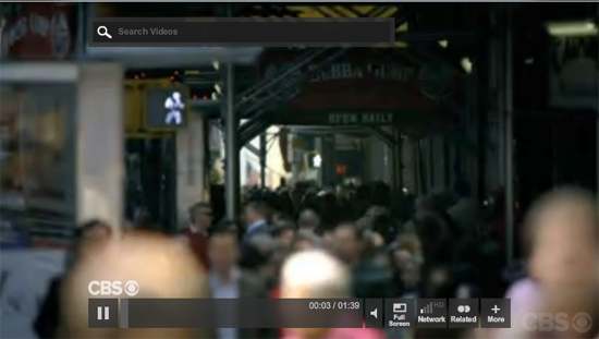 CBS Flash Video Player