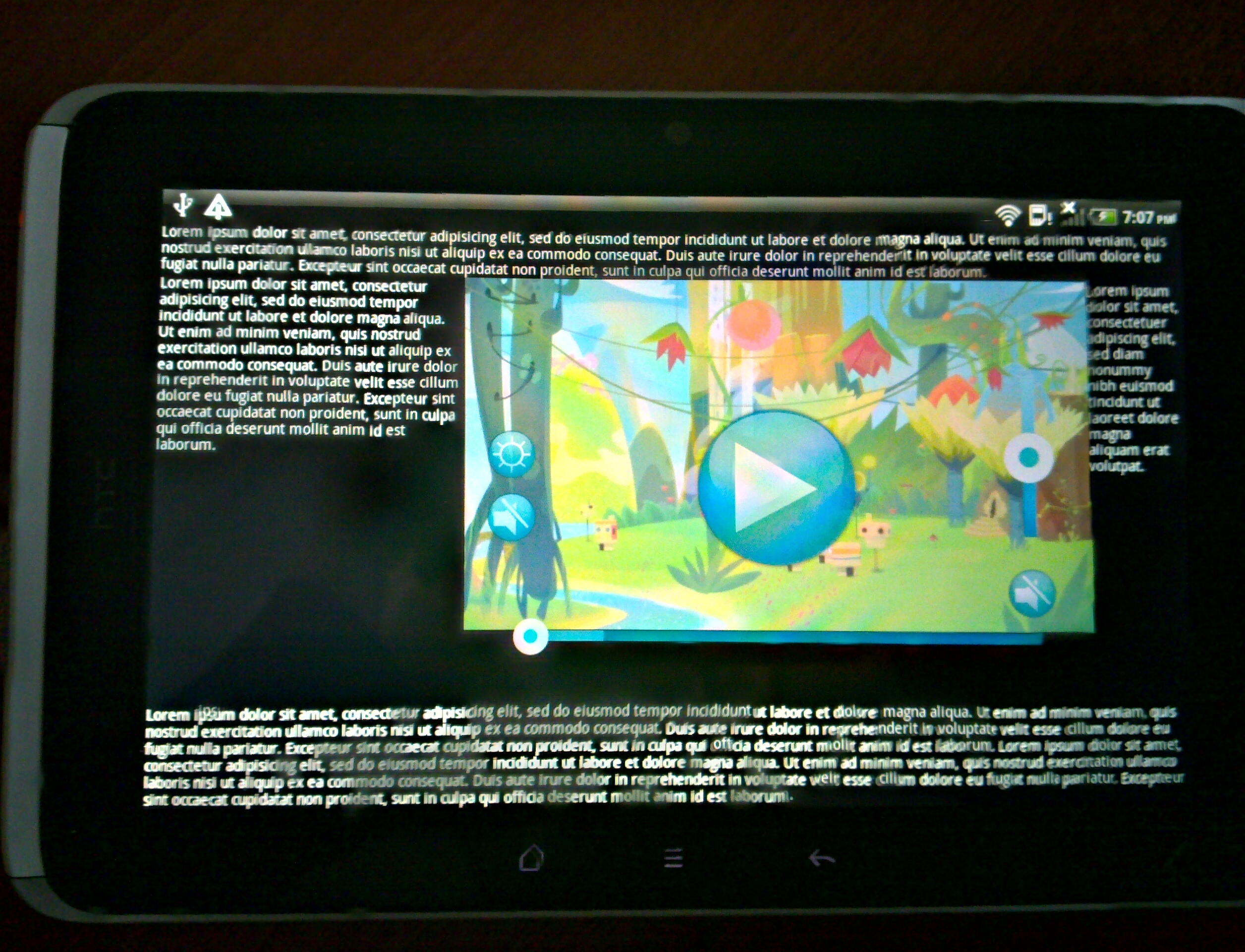 Developing Video Player for Android