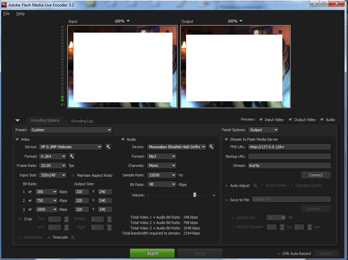 Flash Media Live Encoder 3.2