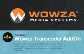 Wowza-Transcoder